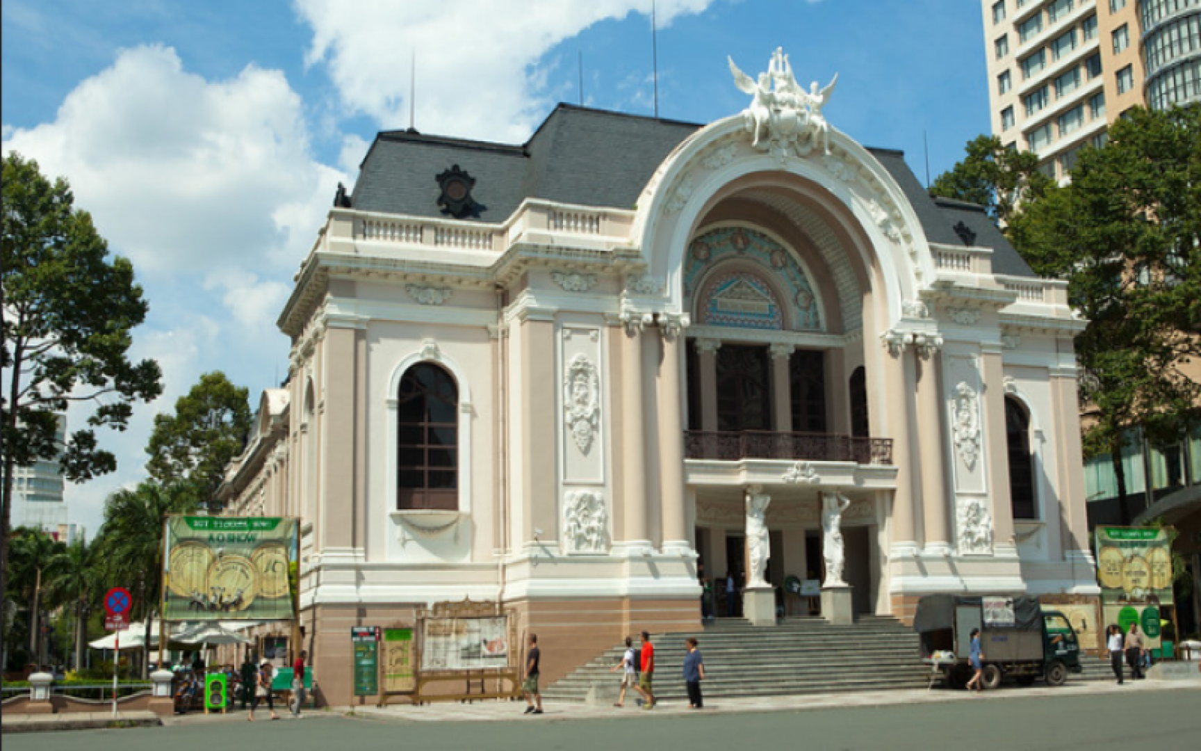 THE OPERA HOUSE IN HO CHI MINH CITY